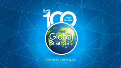 Photo of Brandz's top 100 most valuable global brands in 2020 From KANTAR