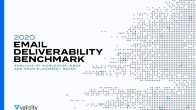 Photo of Email deliverability report 2020 From Validity