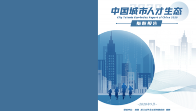 Photo of Report on China's urban talent ecological index 2020 From Microchain