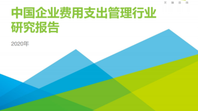 Photo of Research Report on China's enterprise expenditure management industry in 2020 From IResearch consulting