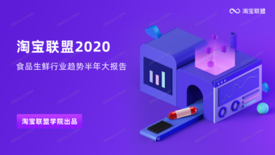 Photo of Trend report of fresh food industry in the first half of 2020 From Taobao Alliance