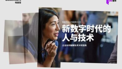 Photo of 2020 Technology Outlook Report – Chinese version From accenture