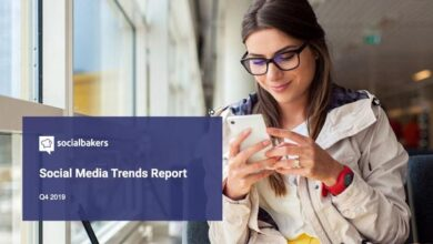 Photo of Social media trends report for the fourth quarter of 2019 From Social-bakers