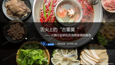 Photo of Hot pot industry research and Consumer Research Report in 2019 From 36kr