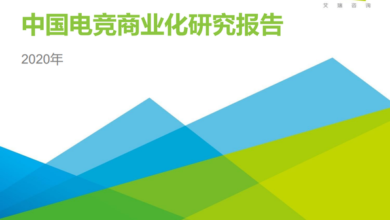 Photo of Research Report on commercialization of E-sports in China in 2020 From IResearch consulting