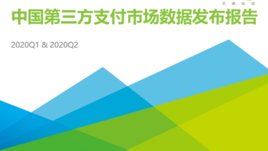 Photo of China's third party payment market data report from Q1 to Q2 in 2020 From IResearch consulting