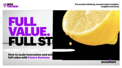 Photo of Get the full value of the technology system From accenture