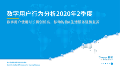 Photo of Analysis of digital user behavior in the second quarter of 2020 From Yi Guan