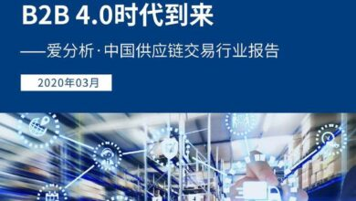 Photo of China supply chain trading industry report in 2020 From Love analysis