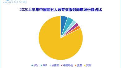 Photo of In the first half of 2020, the overall scale of China's cloud professional services market is 7.19 billion yuan, up 12.3% year on year From IDC