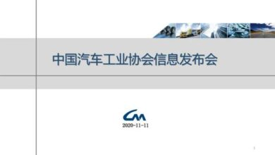 Photo of Economic operation data of automobile industry in October 2020 From China Automobile Association