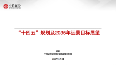 """Photo of """"The 14th five year plan"""" and the prospect of 2035 From citic securities"""