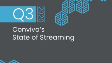 Photo of Streaming media report for the third quarter of 2020 From Live