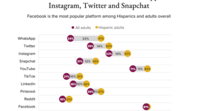 Photo of 47% of Hispanic adults in the United States have WhatsApp accounts From Morning Consult