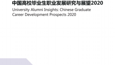 Photo of Research and Prospect of career development of Chinese college graduates in 2020 From CCG&LinkedIn