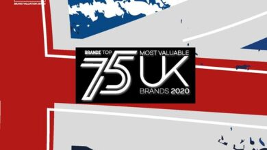 Photo of UK's top 75 most valuable brands in 2020 From Brand