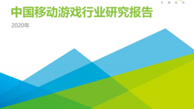 Photo of Research Report on China mobile game industry in 2020 From IResearch consulting