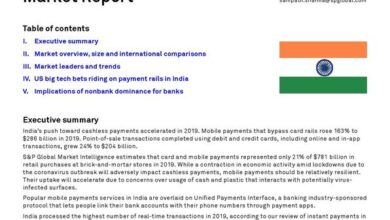 Photo of India mobile payment report 2020 From S & P