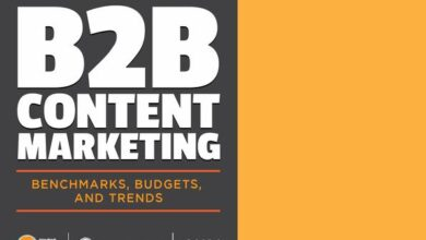 Photo of B2B content marketing report in 2021 From CMI