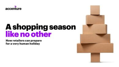 Photo of The 14th annual holiday shopping survey report in 2020 From accenture
