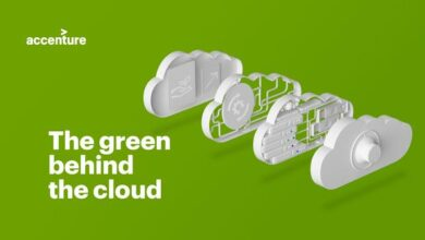 Photo of Green effect of cloud computing From accenture
