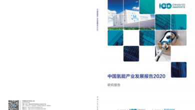 Photo of 2020 China hydrogen industry development report From China electric vehicle 100 people's meeting