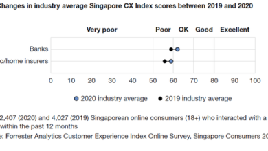 Photo of Singapore brand customer experience index From Forrester