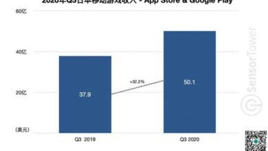 Photo of Q3 Japan mobile game market data in 2020 From Sensor Tower