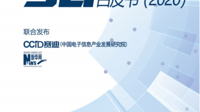 Photo of White paper on 5g converged application development in 2020 From Xinhuanet & saidI