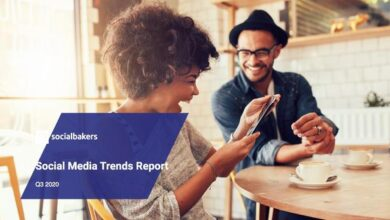 Photo of Q3 social media trends report 2020 From Social-bakers