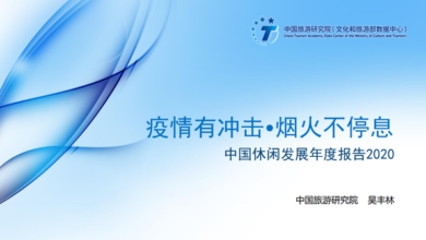 Photo of Annual report on leisure development in China in 2020 From China Academy of Tourism