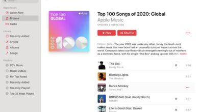 Photo of Top 100 most popular songs of Apple Music in 2020 From Apple
