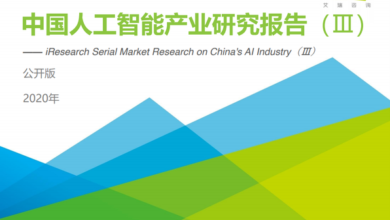 Photo of Research Report on China's artificial intelligence industry in 2020 From IResearch consulting