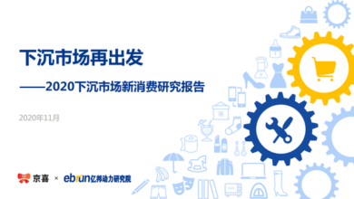 Photo of Research Report on new consumption of sinking market in 2020 From Yibang Power Research Institute & Jingxi
