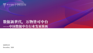 Photo of Analysis on the development of China's Taiwan data industry in 2020 From Jiazi think tank