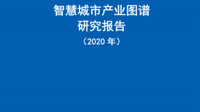 Photo of 2020 smart city industry map Research Report From China Institute of information technology
