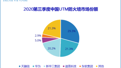 Photo of In the third quarter of 2020, the total revenue of manufacturers in China's IT security hardware market will be about $880 million From IDC