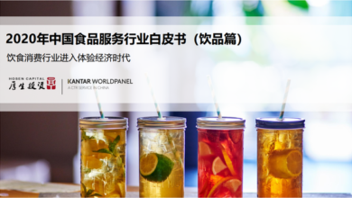 Photo of White paper on China's food service industry in 2020 From Health care investment & Kaidu