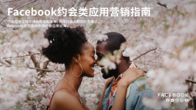 Photo of 2020 dating Application Marketing Guide From Facebook