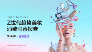 Photo of Insight report on beauty consumption of generation Z trend in 2020 From Cbndata & tmall Global
