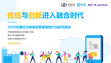 Photo of Consumer Behavior Research Report of 2020 social e-commerce industry development report From China Internet Association & Digital 100