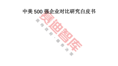 Photo of White paper on the comparative study of the top 500 Chinese and American enterprises in 2020 From CCID think tank