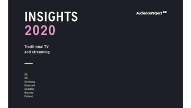 Photo of Insight report on traditional TV and streaming media in 2020 From AudienceProject