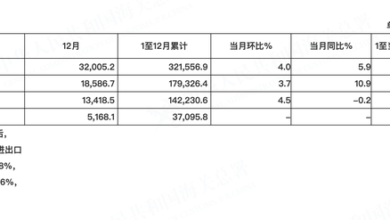 Photo of Total value of China's import and export in December 2020 From customs head office