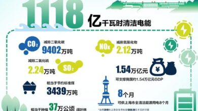 Photo of World record of Three Gorges power generation in 2020