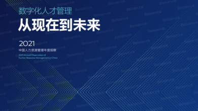 Photo of 2021 annual observation report on human resource management in China From Beson