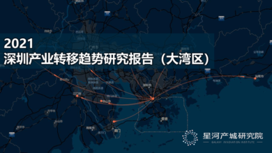 Photo of Research Report on Shenzhen industrial transfer trend in 2021 Dawan District From Xinghe Industrial City Research Institute