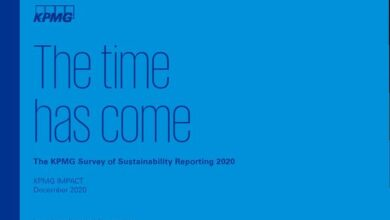Photo of Sustainable development report 2020 From kpmg