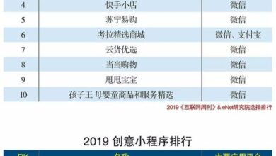 Photo of Ranking of small programs in 2020 From Internet Weekly
