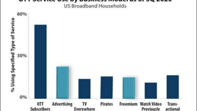 Photo of 20% of broadband households in the United States are using ad supported streaming TV services From Parks Associates